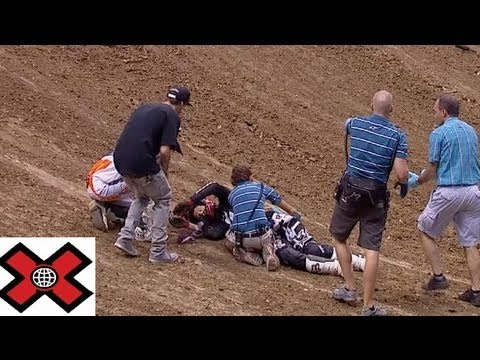 MOTO X AND SNOWMOBILE CRASHES COMPILATION ON X GAMES and X Fighters