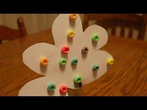 DIY Fall Kids Crafts - Fall Leaves Paper Tree