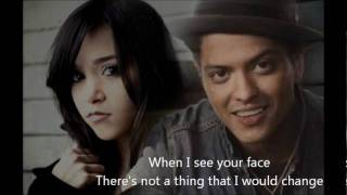 Just the Way You Are Bruno Mars feat Megan