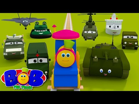 Visit To The Army Camp | Kids Videos By Bob The Train