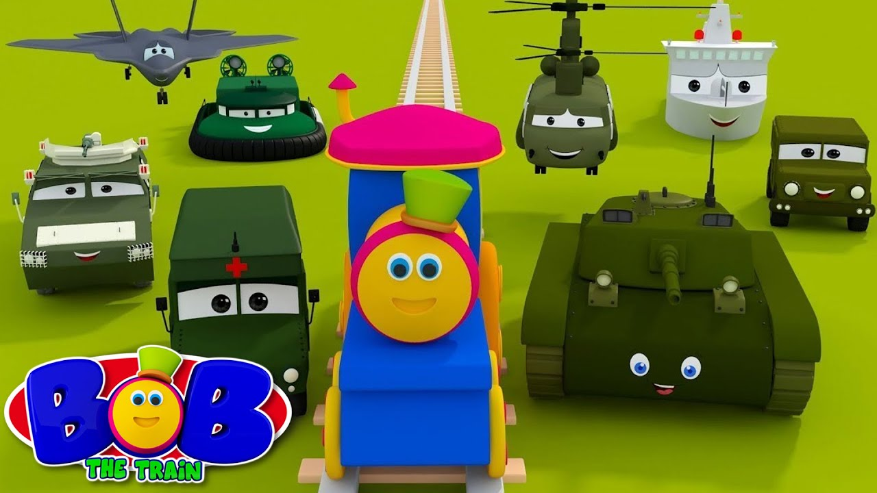 Download Visit To The Army Camp | Kids Videos by Bob The Train