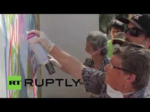 Portugal: Check Out The Graffiti Grannies Giving Banksy A Run For His Money