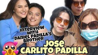OMG! NA INTERVIEW KO KAPATID NI DANIEL PADILLA NA SI JOSE CARLITO PADILLA@IVY MIRANDA VLOG