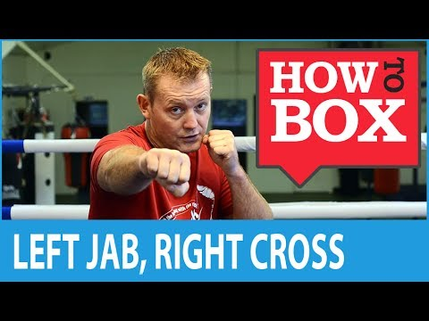 Left Jab, Right Cross - How to Box (Quick Video)