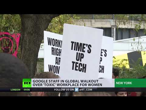 Time's up tech: Google staff stage walkout over sexual harassment Mp3