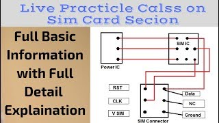 Mobile Repairing Institute | Live Practical Class on Sim Card Section