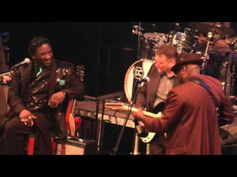 Mud & Big Bill Morganfield, Marcel Flemr Band a hosté, BluesAlive 2014, Šumperk, Czech
