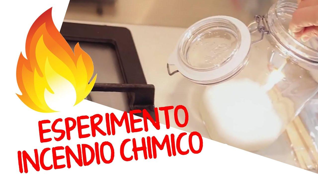 Esperimenti chimici semplici da fare in casa l 39 incendio for Case di tronchi semplici