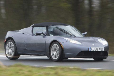 Tesla Roadster roadtest (English subtitled)
