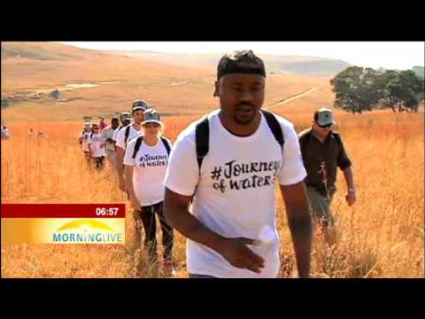 """""""Journey of Water Walk"""" highlights water security"""