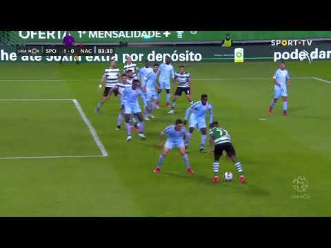 Goal   Golo Z. Feddal: Sporting (1)-0 CD Nacional (Liga 20/21 #30)