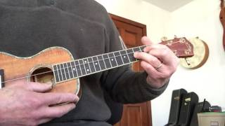 You are My Sunshine, ukulele: melody and chords, tutorial