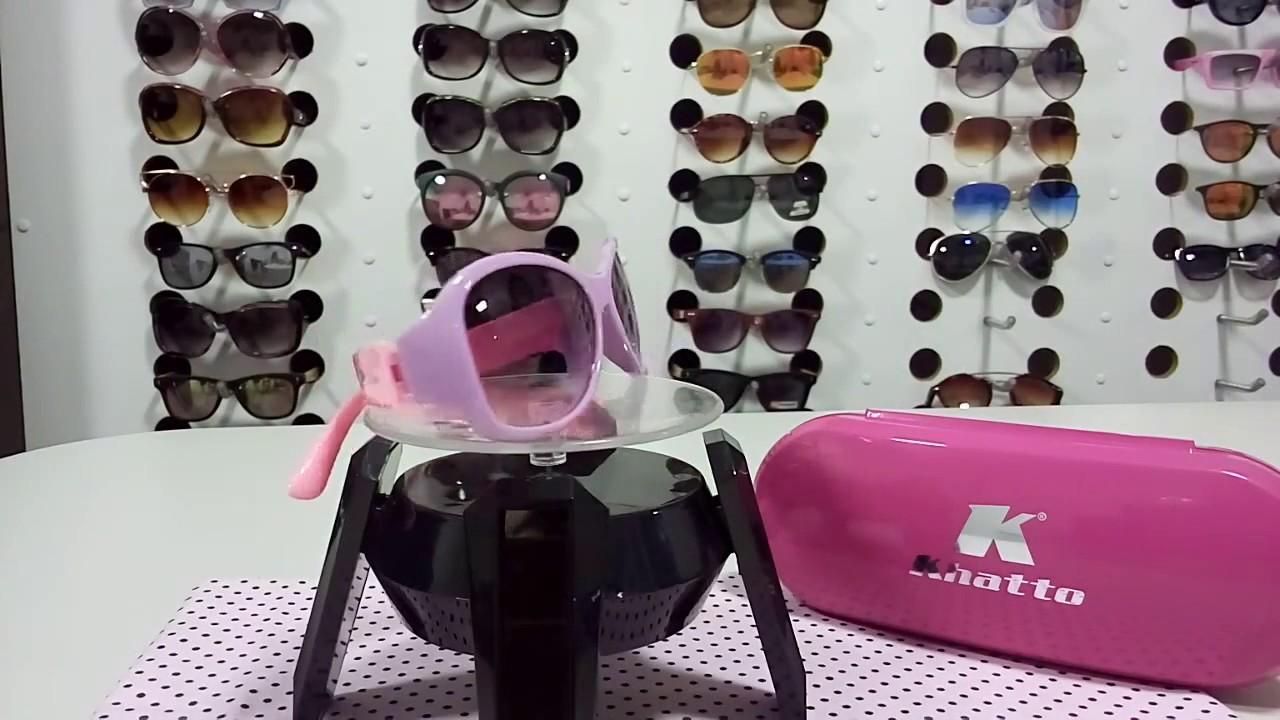 95aa2289b Óculos de Sol Infantil Infinity Kids. Khatto Óculos