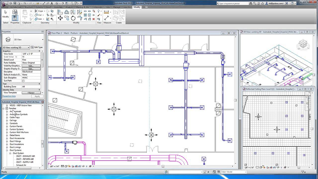 Revit For Mep Duct Systems Adding Equipment And