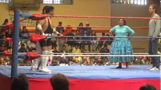 Random Gringo in Lucha Libre