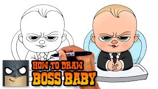 How to Draw Boss Baby | Drawing Tutorial