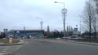 Дорога к Донецкому аэропорту 16 февраля 2013
