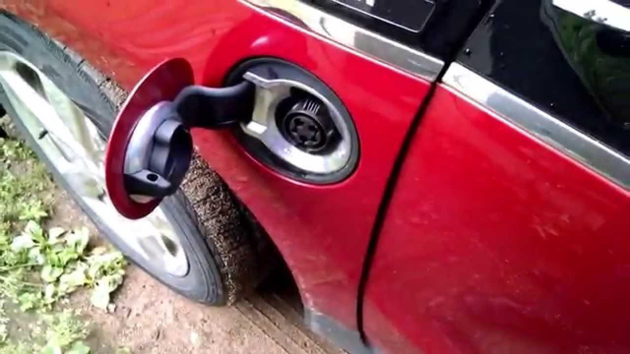 Crazy way to fix a stuck charger port door on Chevy Volt ...