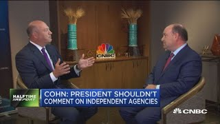 Watch CNBC's exclusive interview with former NEC director Gary Cohn