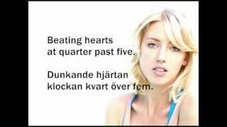 Veronica  Maggio - Välkommen in (Lyrics + English Translation)