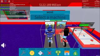 Roblox Arcade Tycoon How to sit in air Works!