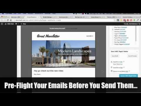 Send Unlimited Email Campaigns with WordPress – WP Email Newsletter Plugin