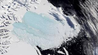 مخاطر انفصال جبل جليدي عملاق عن القارة القطبية الجنوبية