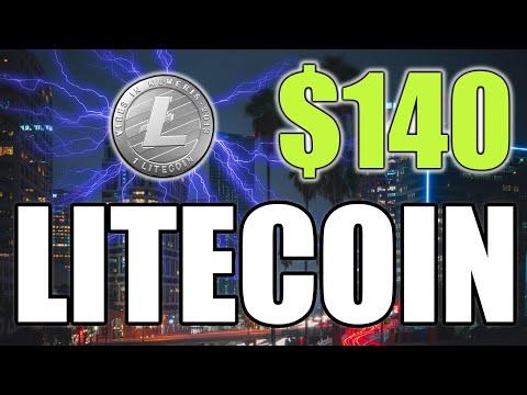 LITECOIN AT $140 RESISTANCE - LTC PRICE UPDATE UNDER 5 MINUTES!