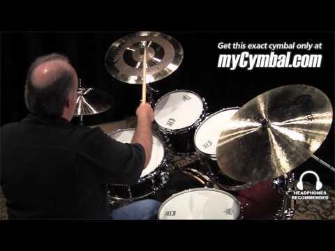 "Bosphorus 16"" Antique Series Paper Thin Crash Cymbal - Played by Duane Norman (A16CPT-896)"