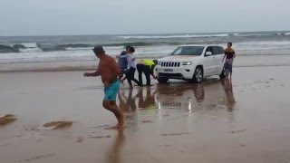 Hilarious Stockton Beach 4WD recovery