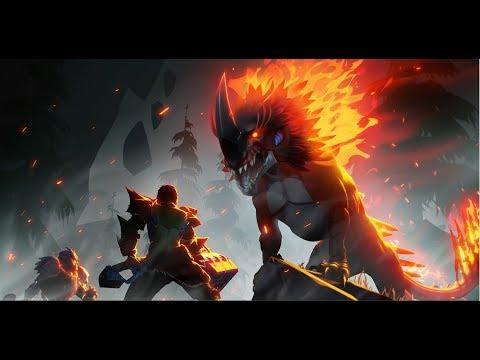 Dauntless : Embermane 🔥Solo Hunt - Hammer (Smoked Dewclaw Farming)