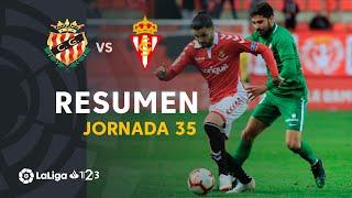 Resumen de Nàstic vs Real Sporting (0-0)