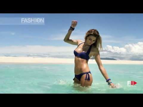 """CALZEDONIA"" Beachwear 2013 Spot with Jessica Hart by Fashion Channel"