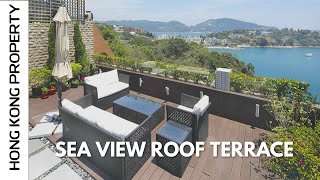 SUPERB TOWNHOUSE NEAR STANLEY WITH SEA VIEW ROOF TERRACE FOR SALE | Hong Kong
