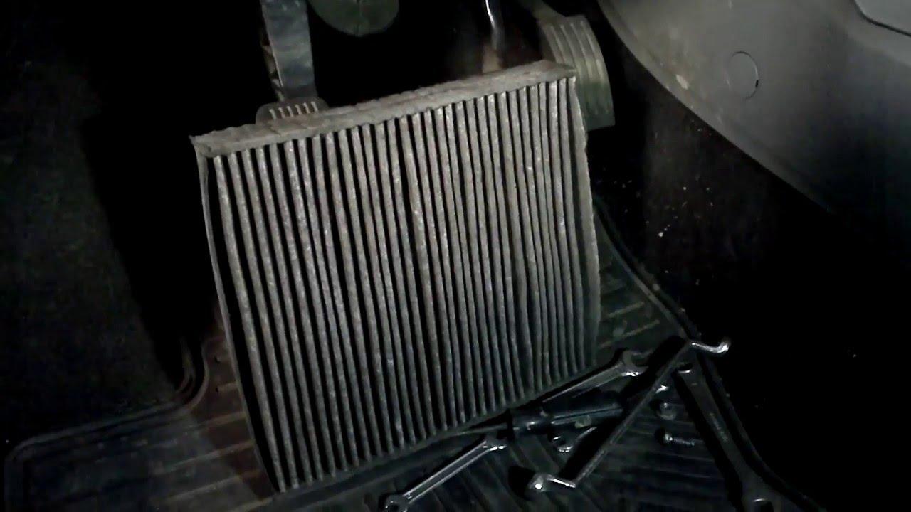 Wymiana Filtra Klimatyzacji Ford Focus Mk 2 Youtube