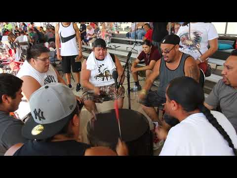 Drum Role Call, 2017 Prairie Band Potawatomi Powwow, Saturday Afternoon