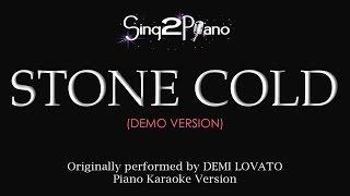 Stone Cold (Piano karaoke demo) Demi Lovato