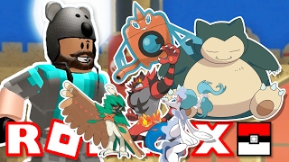 SNORLAX, ROTOM FORMS, EVOLVING ALL GEN 7 STARTERS!! | Pokémon Brick Bronze [#38] Roblox