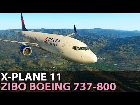 Flying for Free, Freeware Zibo Boeing 737-800, PilotEdge ✈️ 2017-04-14