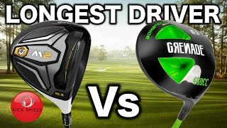 longest driver taylormade m2 vs bombtech grenade