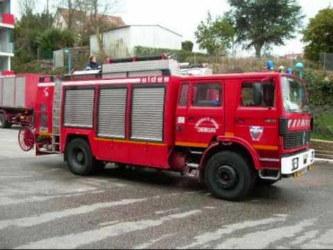 pompier de cherbourg octeville