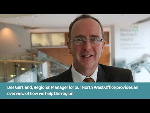 An overview of how Invest NI helps the North West Region