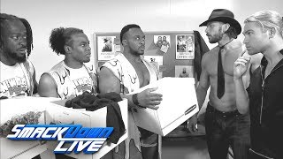 "The New Day try to bribe Breezango in the latest ""Fashion Files"": SmackDown LIVE, June 6, 2017"