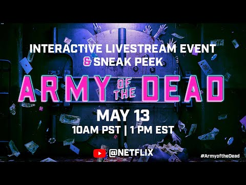 Unlock the First 15 Minutes Live | Army of the Dead
