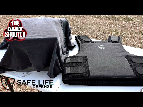 Safe Life Defense PROTOTYPE LVL IIIA+ Test and review