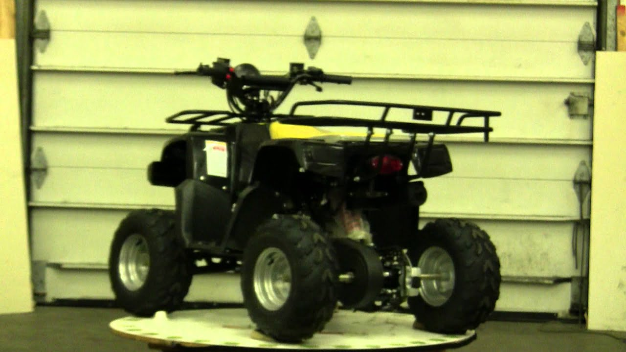 FancyScooters Peace Mini Hummer ATV 110cc with Front Hande