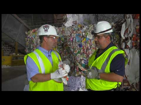 Paper Recycling: Market Deinked Pulp: A Tour of a Paper Recy