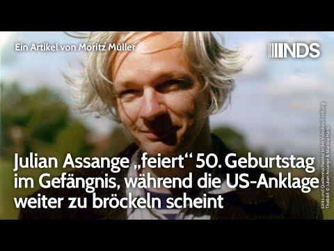 """Julian Assange """"feiert"""" 50. Geburtstag im Gefängnis, während US-Anklage weiter zu bröckeln scheint"""