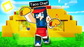 We made a TACO RESTAURANT  in Minecraft!