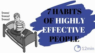 The 7 Habits of Highly Effective People [ Animated Book Summary ]